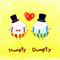 『Humpty Dumpty』 とあるアーティストさんの曲を聴きながら描いた 2012.1.27 SAI