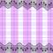 『レースつき紫ギンガム』 2012.3.15 CLIP Paint Lab