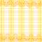 『レースつき黄色ギンガム』 2012.3.15 CLIP Paint Lab