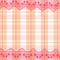 『レースつき赤ギンガム』 2012.3.15 CLIP Paint Lab