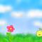 『タネと野原』 アナログっぽく、絵本っぽく描いてみたかったのです。テクスチャペンたのしいね。2015.2.8 Photoshop Elements11