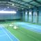освещение теннисного хард корта