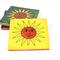 Fliese-Sonne-Gelb