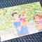 悊様・クレヨンしんちゃんのポストカード