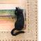 黒猫ちゃんには小さなおヒゲがちゃんとついています。