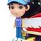 ハレルヤ殿のお人形には、キャスケット帽を。