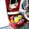 梅の母様・クリスマスゴーフレット(食物アレルギーを持つ子供の為、代わりにキャンディーを入れました)