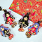 童話の人魚姫が好きで、和風にアレンジした女の子のお人形です。