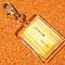 akiru様の短編小説『しゅうまつの朝』より、文章の一部をお借りして制作したキーホルダーです。