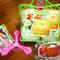 すまいるまいる様・鳥取産の新興梨と西条柿と玩具