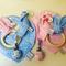 Bavoir bandana, attache tétine et anneau de dentition enfant - bébé