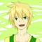 カノン様より、主人公ジュンを描いていただきました!爽やかイケメン…!笑顔にどきっときます。カノン様ありがとうございます!