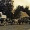 Pas moins de 12 chevaux et un charriot renforcé pour des blocs qui pesaient jusqu'à 8 tonnes.