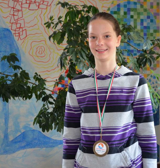 Thea Leiter - Bronzegewinnerin bei der Italienmeisterschaft 2015