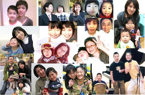 会員家族の写真
