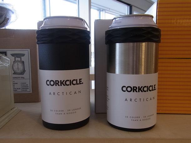 中に入れた缶の温度を保つCORKCICLEのARCTICAN