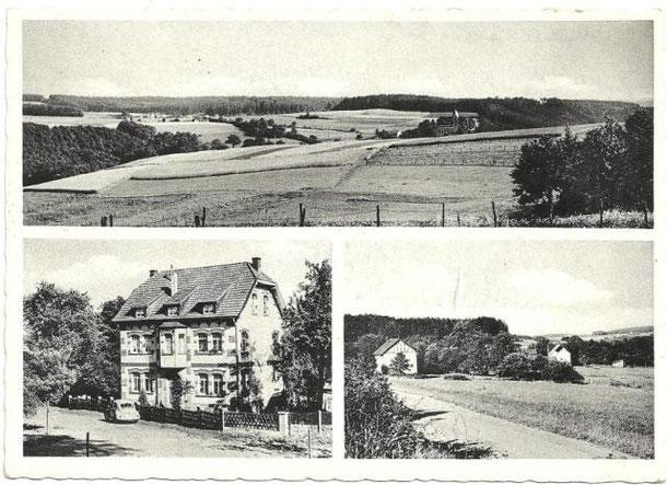 Ansichtskarte aus der Zeit um 1950.
