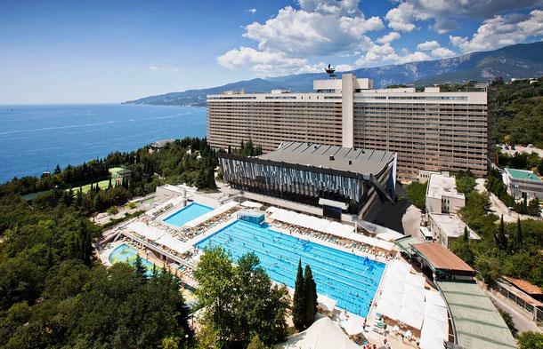 Отели, гостиницы Большой Ялты