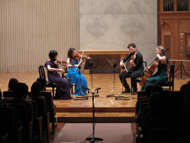 Concert at Lutheran Ichigaya, Tokyo