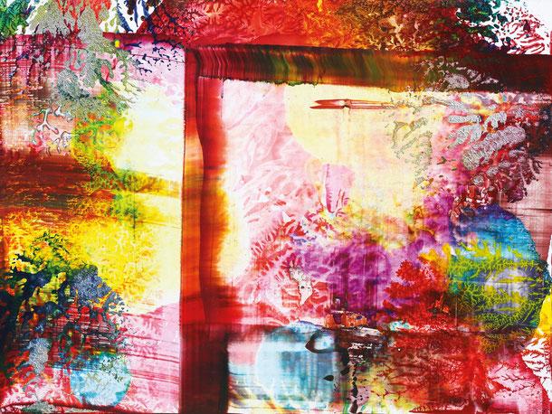 Kunstwerk WORLDS' PIECES X auf ARTS IV als Acrylglas- oder Schattenfugenrahmen-Druck bestellen