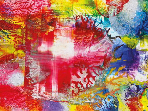 Kunstwerk WORLDS' PIECES II auf ARTS IV als Acrylglas- oder Schattenfugenrahmen-Druck bestellen