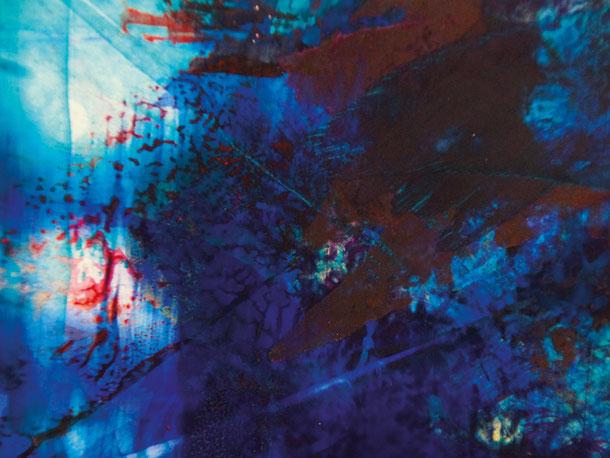 Kunstwerk TO LIGHT BLUE auf ARTS IV als Acrylglas- oder Schattenfugenrahmen-Druck bestellen