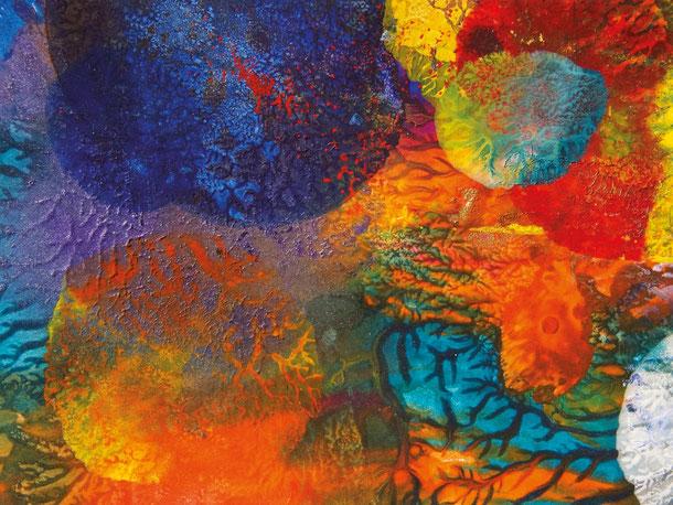 Kunstwerk HEART EXPLOSION auf ARTS IV als Acrylglas- oder Schattenfugenrahmen-Druck bestellen