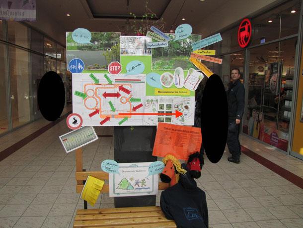 Nehmen Sie Platz - Ausstellung der Pinneberger Schulen in der Rathauspassage