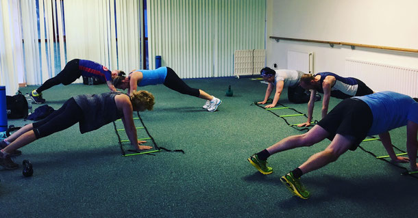 Some core and balance work in the ladder