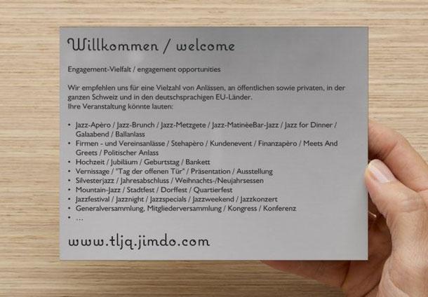 www.tljq.jimdo.com > Willkommen / welcome