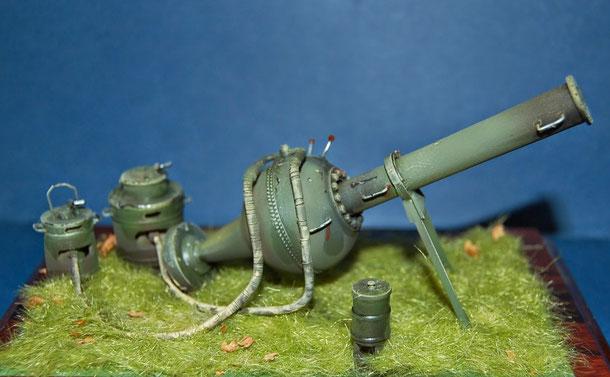 e questa è la mia ultima realizzazione: La bombarda maggiora del Regio Esercito Italiano 1915-1918. Scala 1/35
