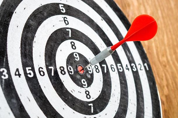 Richtig zielen - eine Übung zur Zielfindung und Zielerreichung