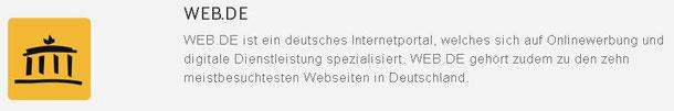Web-Eintrag in WEB.DE