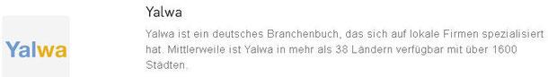 Web-Eintrag in Yalwa