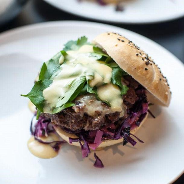 Rehburger, Hamburger aus Reh