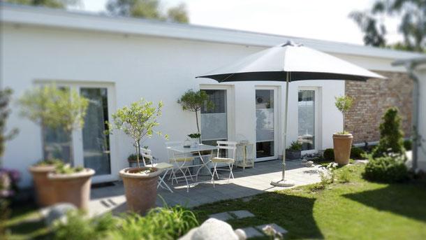 Ferienwohnung, FeWo, Strandrose, Rügen, Ummanz, von Privat, Cafe, Zuckerkuss, Urlaub
