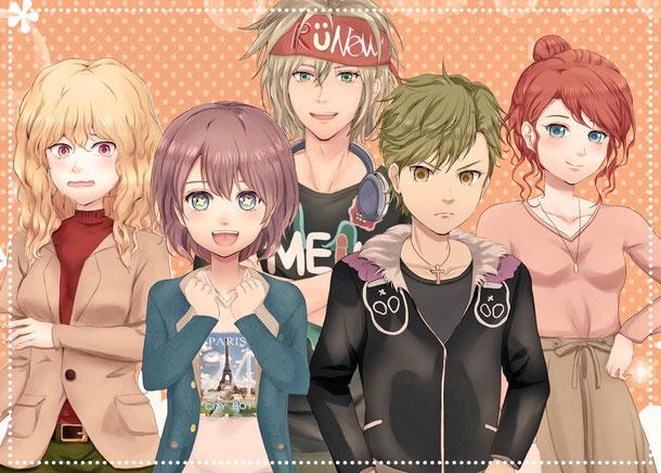 【シナ大歓迎!】ビジュアルノベルゲーム製作メンバー募集【無償】