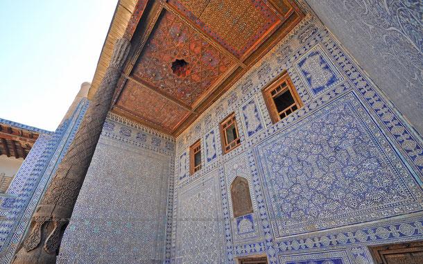 タシュ・ハウリ宮殿のアラベスク装飾