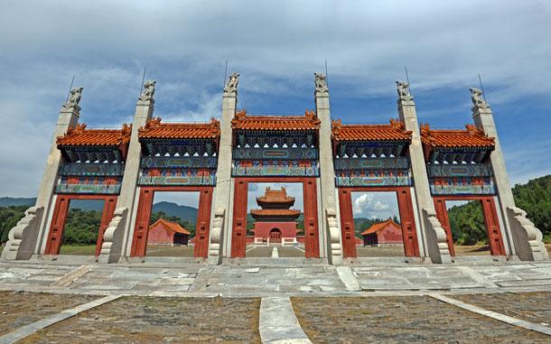 世界遺産「明・清朝の皇帝陵墓群(中国)」、清東陵・景陵