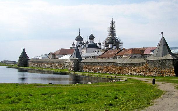 ロシアの世界遺産「ソロヴェツキー諸島の文化と歴史遺産群」、ソロヴェツキー修道院