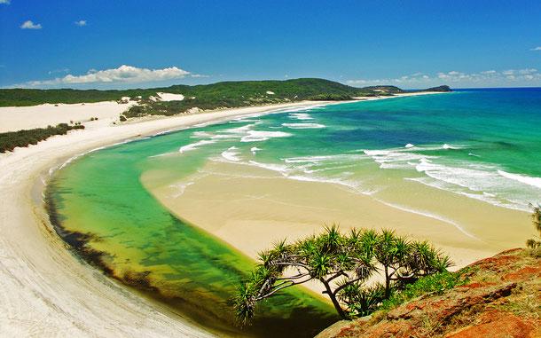 世界遺産「フレーザー島(オーストラリア)」