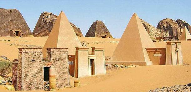 世界遺産「メロエ島の古代遺跡群(スーダン)」