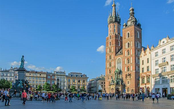 世界遺産「クラクフ歴史地区(ポーランド)」、聖マリア教会