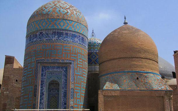 世界遺産「アルダビールのシェイフ・サフィー・アッディーンの修道院と聖者廟複合体群と寺院群(イラン)」、シェイフ・サフィー・アッディーン廟