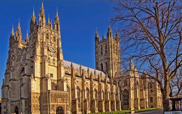 世界遺産「カンタベリー大聖堂、聖オーガスティン大修道院及び聖マーティン教会(イギリス)」、カンタベリー大聖堂