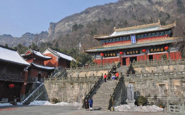 世界遺産「武当山の古代建築物群(中国)」