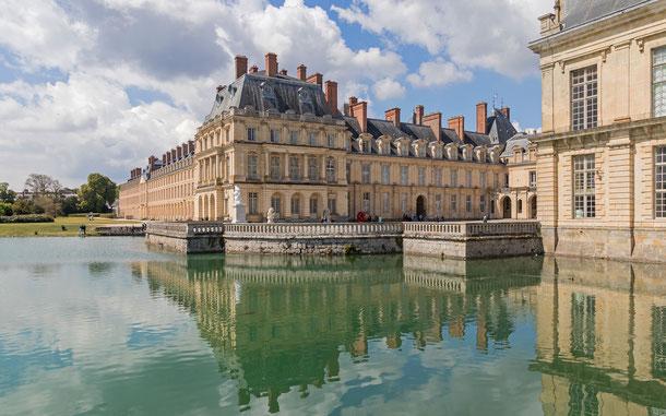 フランスの世界遺産「フォンテーヌブローの宮殿と庭園」