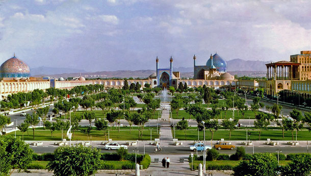イランの世界遺産「イスファハンのイマーム広場」