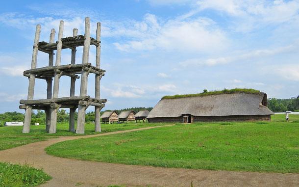 青森県の縄文遺跡、三内丸山遺跡