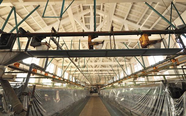 世界遺産「富岡製糸場と絹産業遺産群(日本)」、繰糸所
